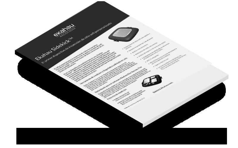 Ekahau Sidekick el primer dispositivo de inspección de sitio wifi personalizado